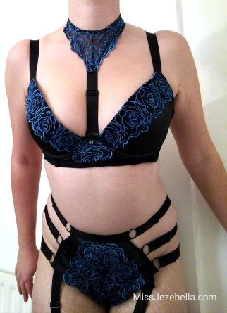 Midnight Soiree Bra Set